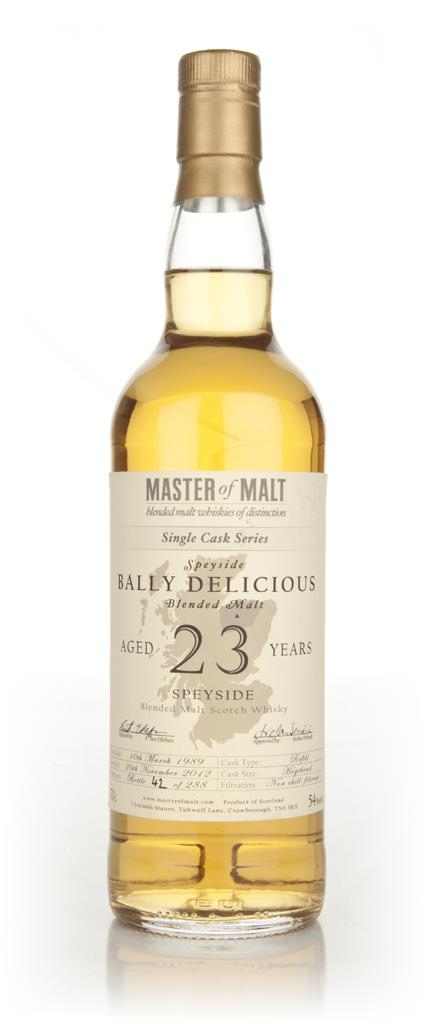 Bally Delicious 23 Year Old - Single Cask (Master of Malt) Blended Malt Whisky