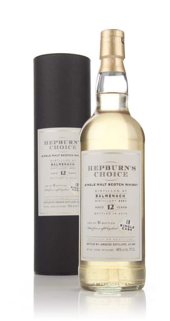 Balmenach 12 Year Old 2001 - Hepburn's Choice (Langside) Single Malt Whisky