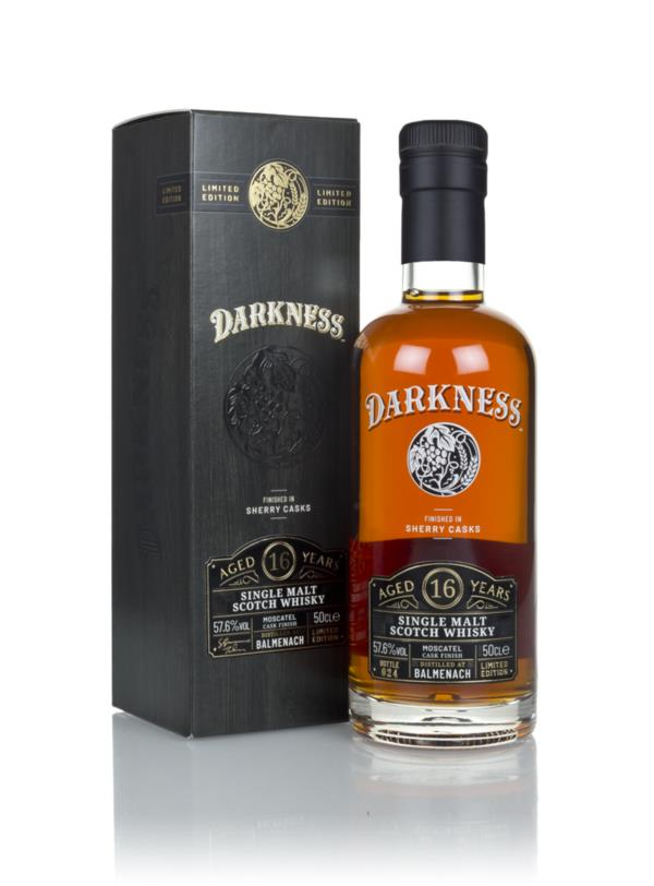 Balmenach 16 Year Old Moscatel Cask Finish (Darkness) Single Malt Whisky