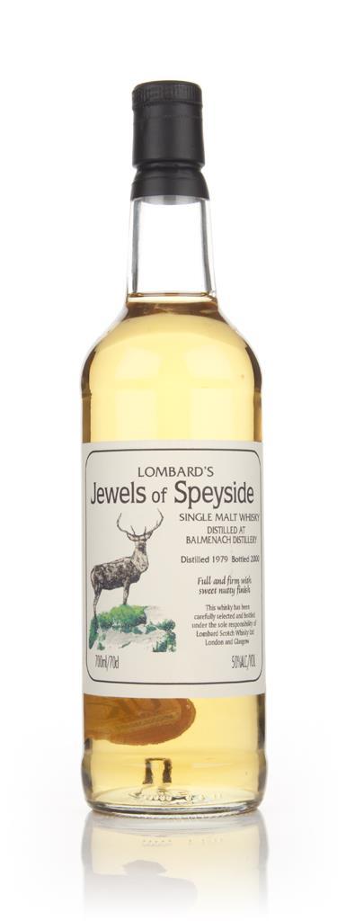 Balmenach 1979 - Jewels of Speyside (Lombard) Single Malt Whisky