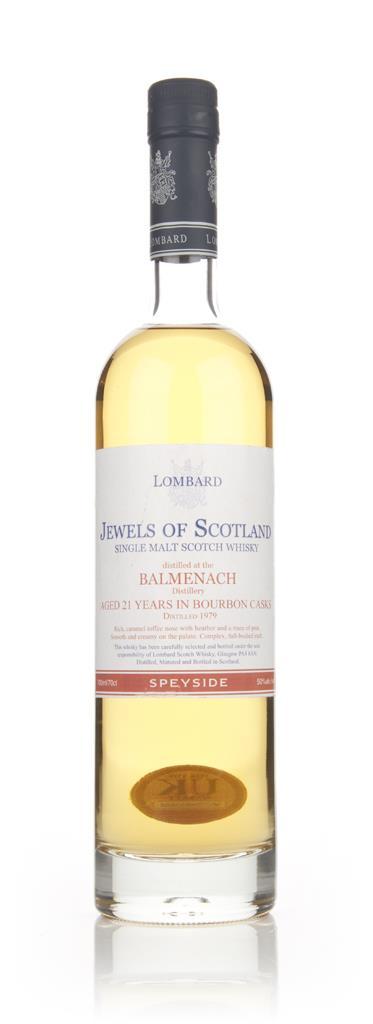 Balmenach 21 Year Old 1979 - Jewels of Scotland (Lombard) Single Malt Whisky