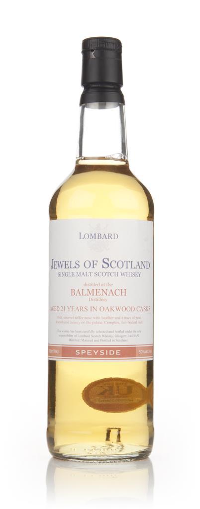 Balmenach 21 Year Old - Jewels of Scotland (Lombard) Single Malt Whisky