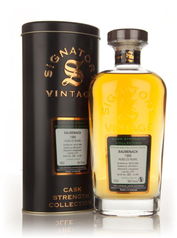 Balmenach 25 Year Old 1988 (cask 2797) - Cask Strength Collection (Sig Single Malt Whisky