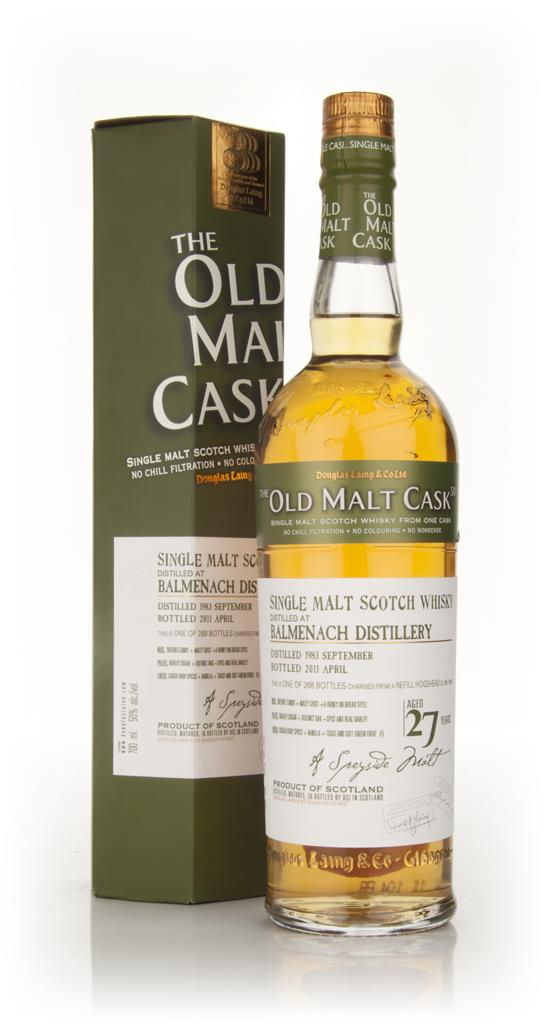Balmenach 27 Year Old 1983 - Old Malt Cask (Douglas Laing) Single Malt Whisky
