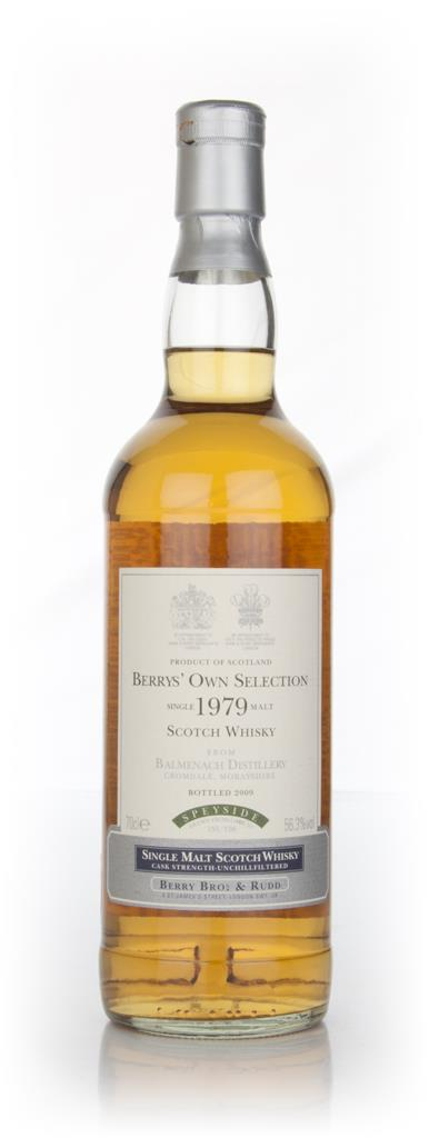 Balmenach 30 Year Old 1979 (cask 156) - (Berry Bros. & Rudd) Single Malt Whisky