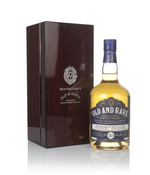Balmenach 30 Year Old 1989 - Old & Rare (Hunter Laing) Single Malt Whisky