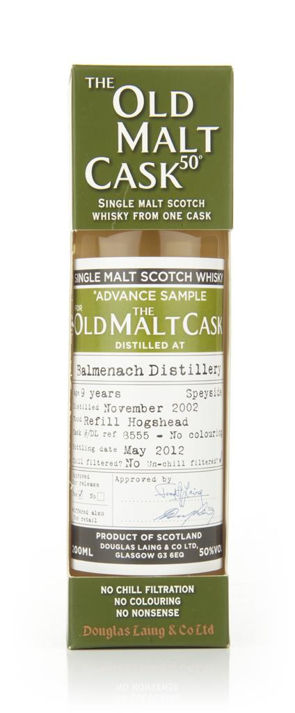 Balmenach 9 Year Old 2002 Advance Sample - Old Malt Cask (Douglas Lain Single Malt Whisky