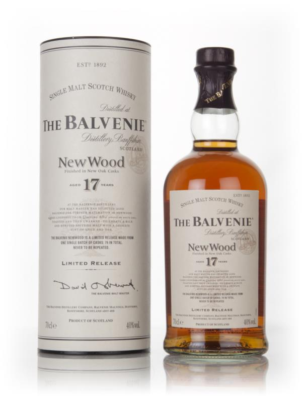 Balvenie 17 Year Old New Wood Single Malt Whisky