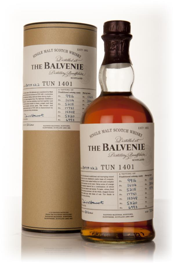 Balvenie Tun 1401 - Batch 2 Single Malt Whisky