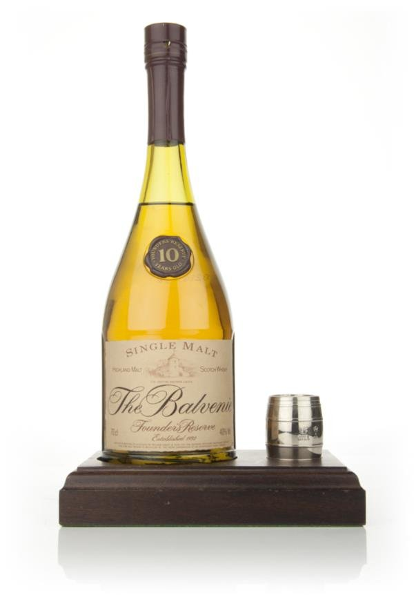Balvenie 10 Year Old  Founders Reserve with measure Single Malt Whisky