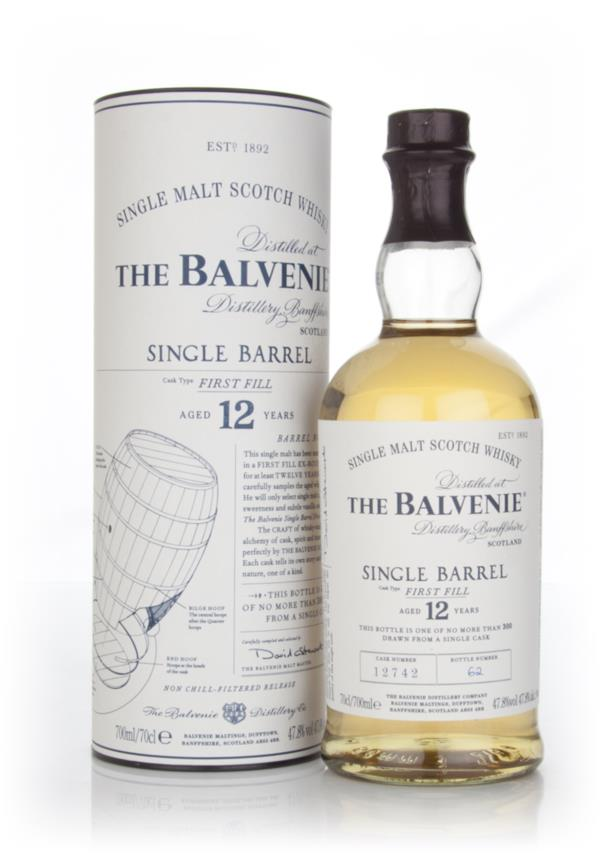 Balvenie 12 Year Old Single Barrel - First Fill Single Malt Whisky