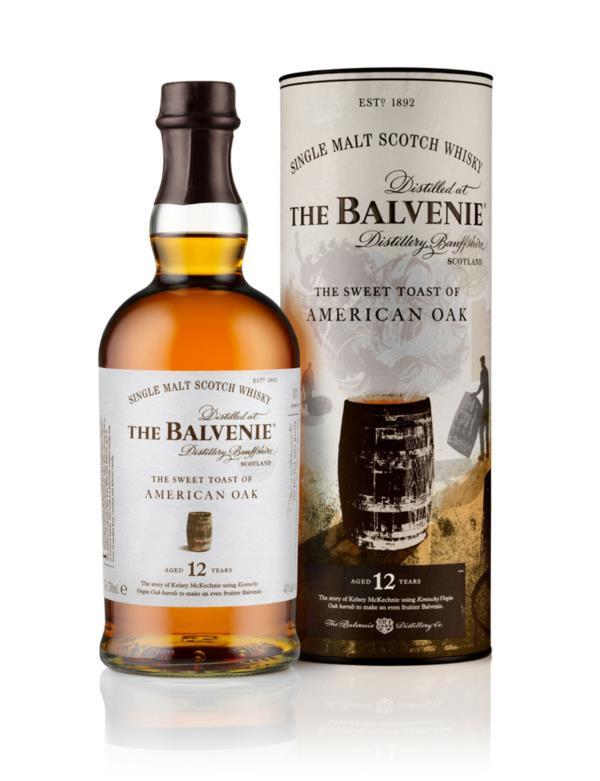 Balvenie 12 Year Old - The Sweet Toast of American Oak Single Malt Whisky