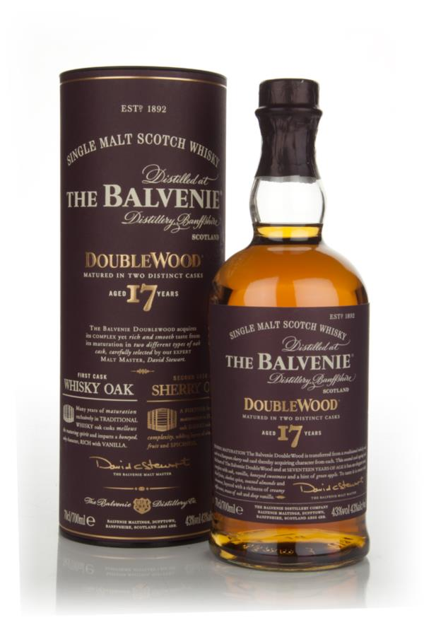 Balvenie 17 Year Old Doublewood Single Malt Whisky