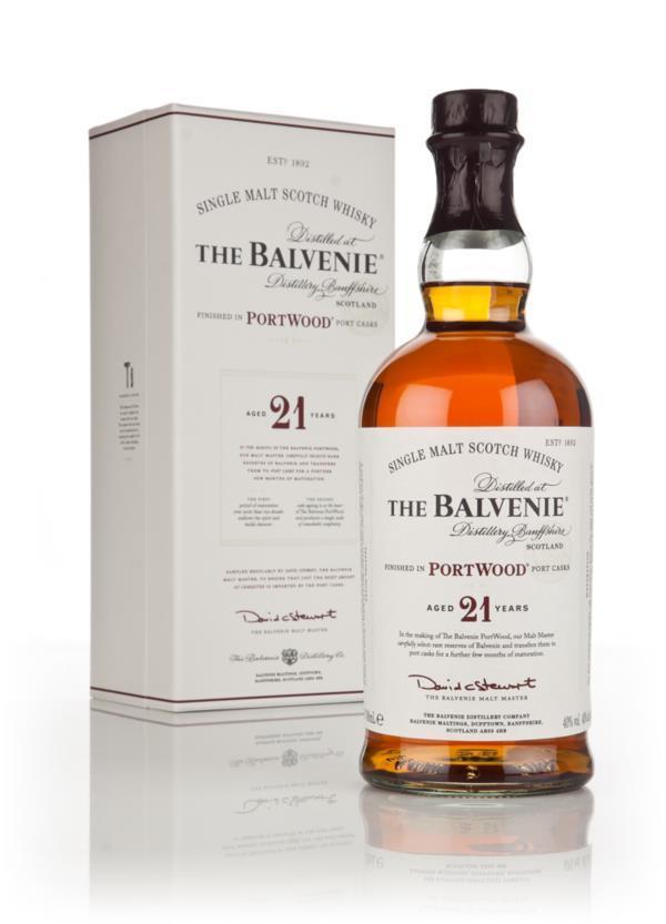 Balvenie 21 Year Old PortWood Finish Single Malt Whisky