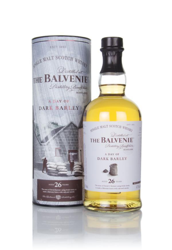 Balvenie 26 Year Old - A Day of Dark Barley 3cl Sample Single Malt Whisky