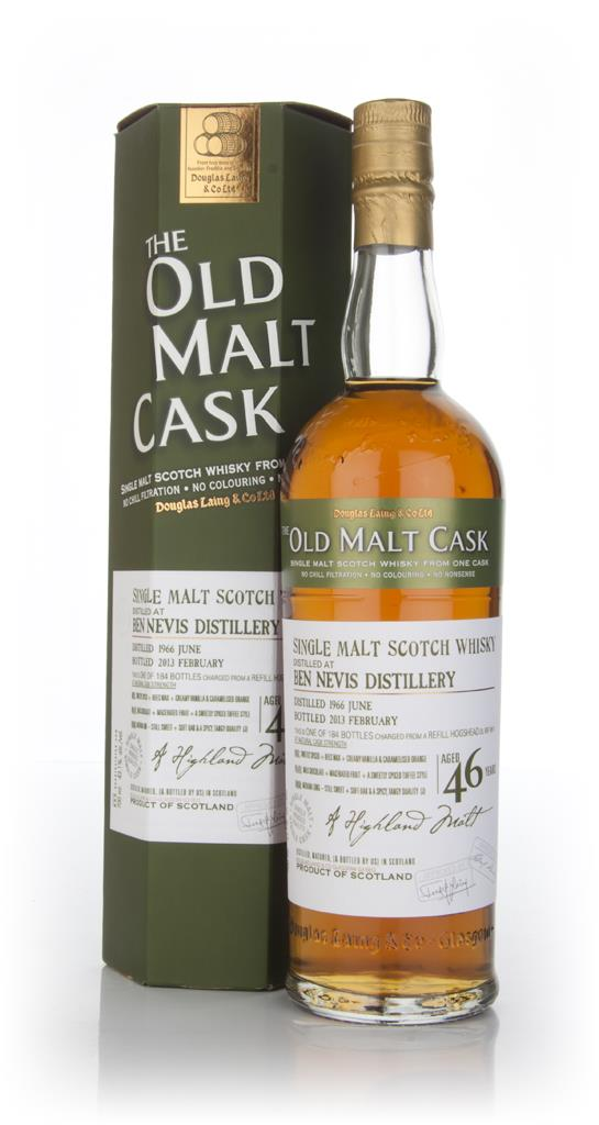 Ben Nevis 46 Year Old (cask 9511) - Old Malt Cask (Douglas Laing) Single Malt Whisky