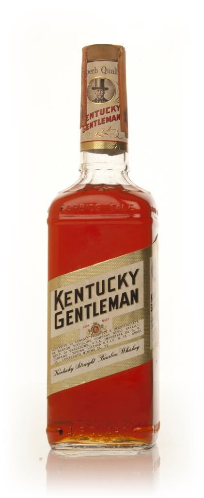 Kentucky Gentleman - 1970s Bourbon Whiskey