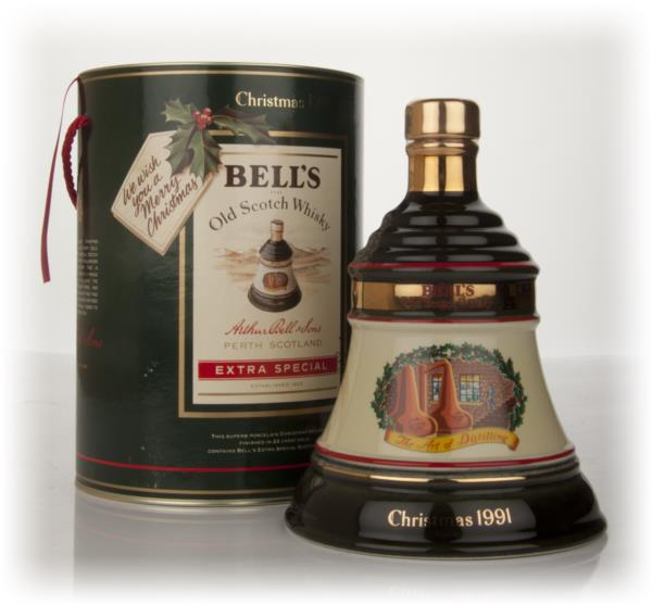 Bells 1991 Christmas Decanter Blended Whisky