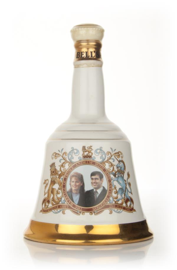 Bells Prince Andrew and Miss Sarah Ferguson 1986 Decanter (nearly empt Blended Whisky