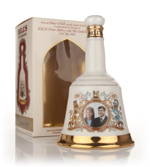 Bells Prince Andrew and Miss Sarah Ferguson 1986 Decanter Blended Whisky
