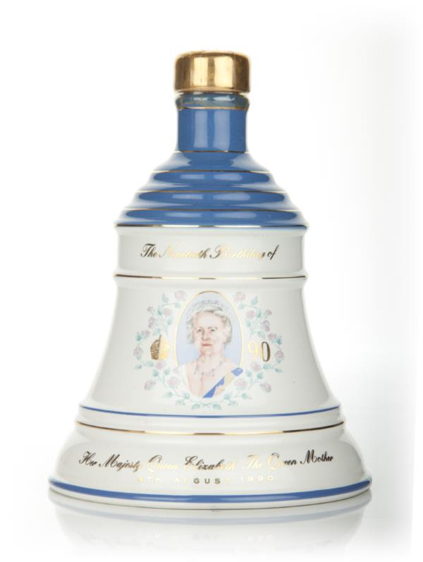 Bells Queen Mother 90th Birthday Decanter Blended Whisky