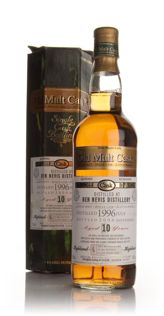 Ben Nevis 10 Year Old 1996 - Old Malt Cask (Douglas Laing) Single Malt Whisky