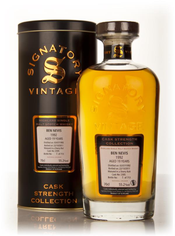 Ben Nevis 19 Year Old 1992 Cask 2305 - Cask Strength Collection (Signa Single Malt Whisky