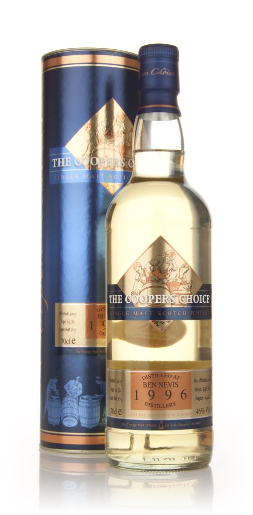 Ben Nevis 12 Year Old 1996 - Coopers Choice (Vintage Malt Whisky Co) Single Malt Whisky