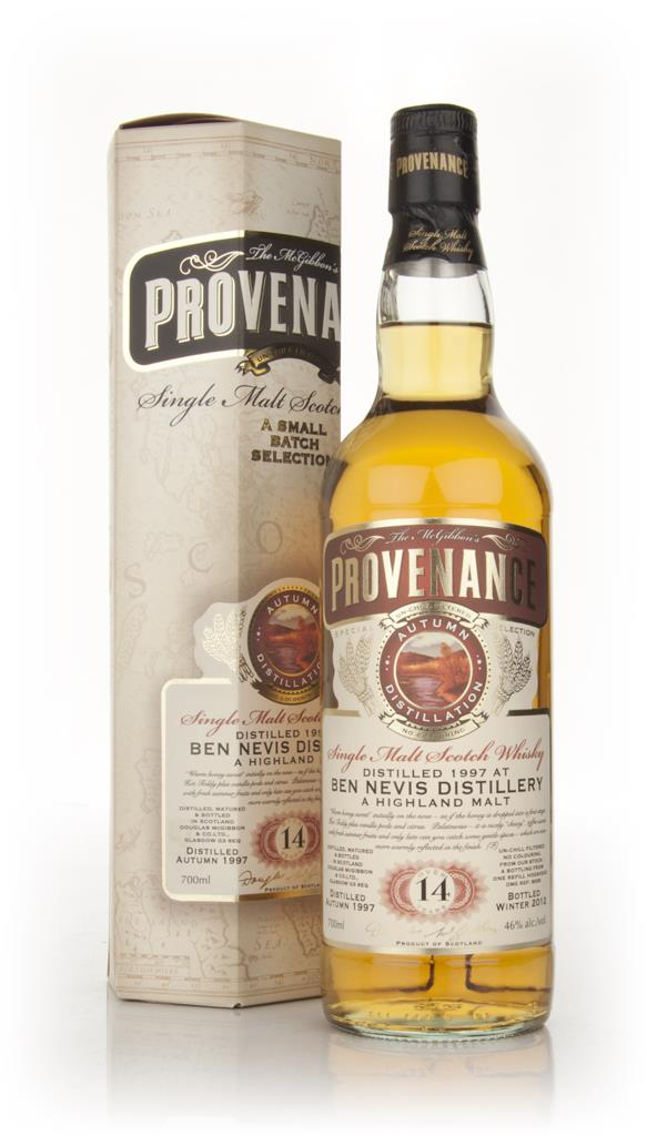 Ben Nevis 14 Year Old 1997 - Provenance (Douglas Laing) Single Malt Whisky