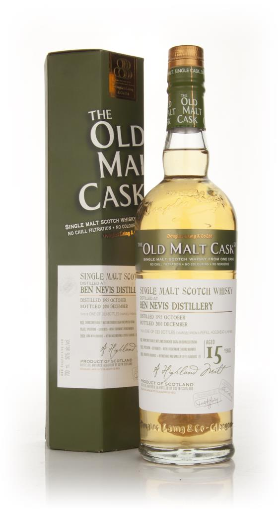 Ben Nevis 15 Year Old 1995 - Old Malt Cask (Douglas Laing) Single Malt Whisky