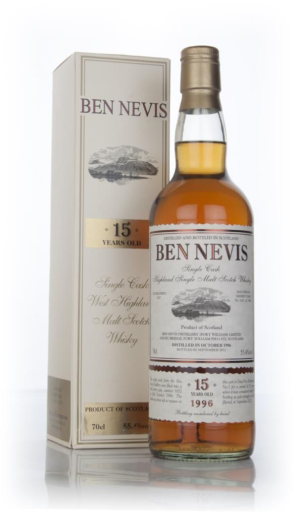 Ben Nevis 15 Year Old 1996 (cask 1652) Single Malt Whisky