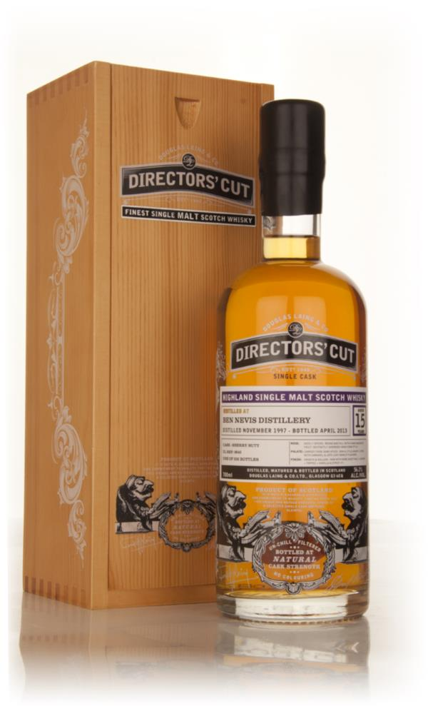 Ben Nevis 15 Year Old 1997 (cask 9640) - Directors Cut (Douglas Laing Single Malt Whisky