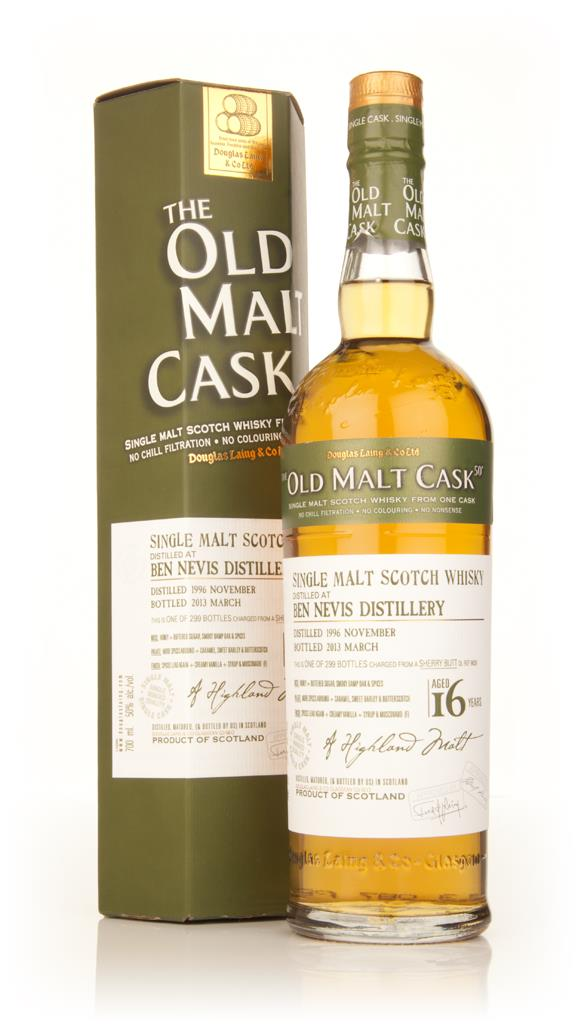 Ben Nevis 16 Year Old 1996 (cask 9639) - Old Malt Cask (Douglas Laing) Single Malt Whisky