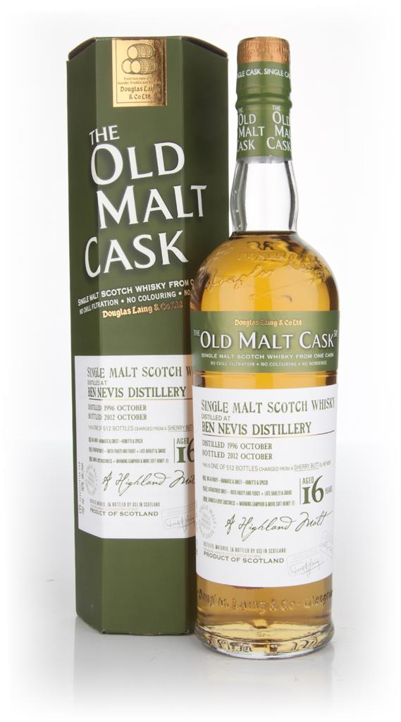 Ben Nevis 16 Year Old 1996 - Old Malt Cask (Douglas Laing) Single Malt Whisky