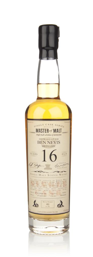 Ben Nevis 16 Year Old - Single Cask (Master of Malt) Single Malt Whisky