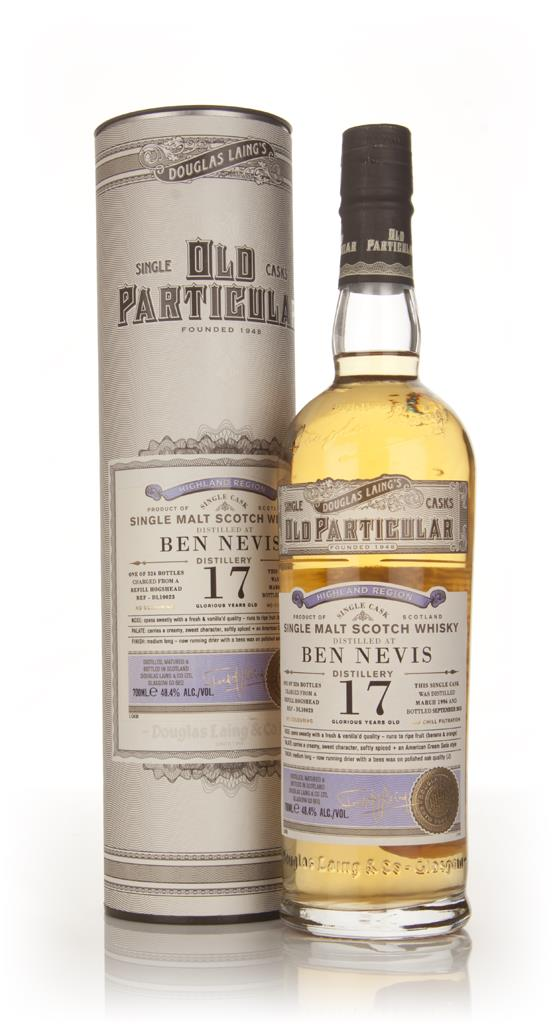 Ben Nevis 17 Year Old 1996 (cask 10023) - Old Particular (Douglas Lain Single Malt Whisky