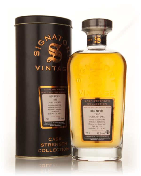 Ben Nevis 20 Year Old 1992 (cask 2310) - Cask Strength Collection (Sig Single Malt Whisky