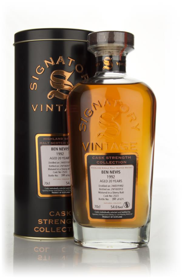 Ben Nevis 20 Year Old 1992 Cask 2523 - Cask Strength Collection (Signa Single Malt Whisky