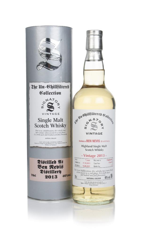 Ben Nevis 7 Year Old 2013 (casks 414 & 415) - Un-Chillfiltered Collect Single Malt Whisky
