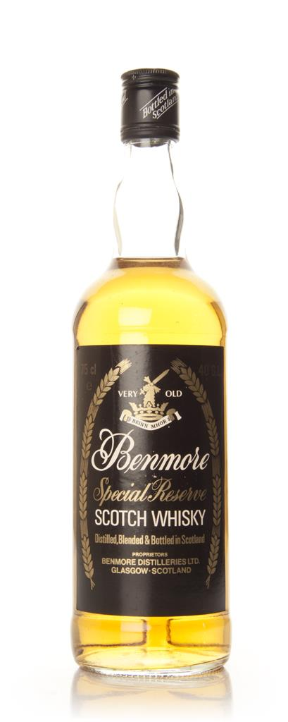 Benmore Special Reserve Blended Scotch Whisky - 1970s Blended Whisky