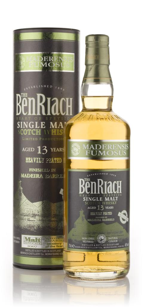BenRiach 13 Year Old Madeira Finish - Maderensis Fumosus Single Malt Whisky