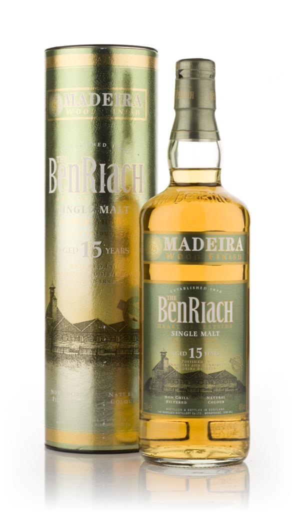 BenRiach 15 Year Old (Madeira Finish) Single Malt Whisky