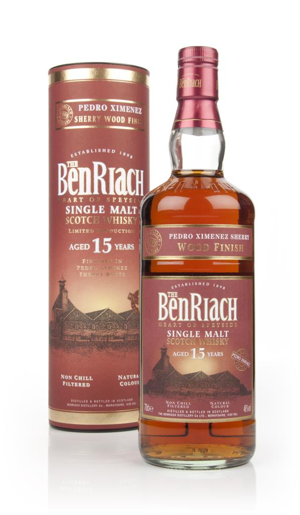 BenRiach 15 Year Old (Pedro Ximenez Sherry Cask Finish) Single Malt Whisky