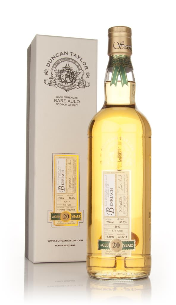 BenRiach 20 Year Old 1990 - Rare Auld (Duncan Taylor) Single Malt Whisky