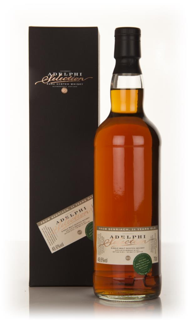 BenRiach 34 Year Old 1977 (Adelphi) Single Malt Whisky