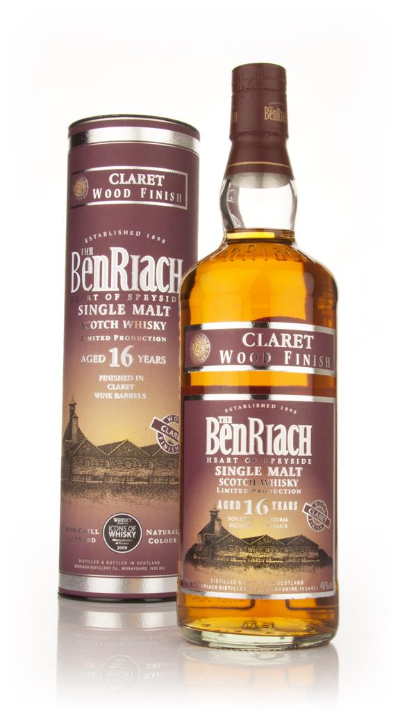 BenRiach 16 Year Old Claret Finish Single Malt Whisky