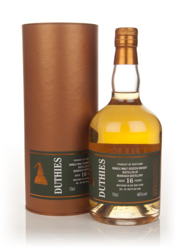 BenRiach 16 Year Old - Duthies (WM Cadenhead) Single Malt Whisky