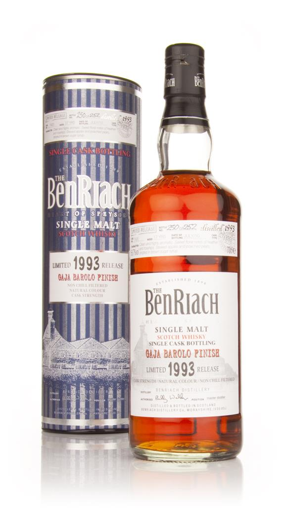 BenRiach 17 Year Old 1993 Gaja Barolo Finish Single Malt Whisky