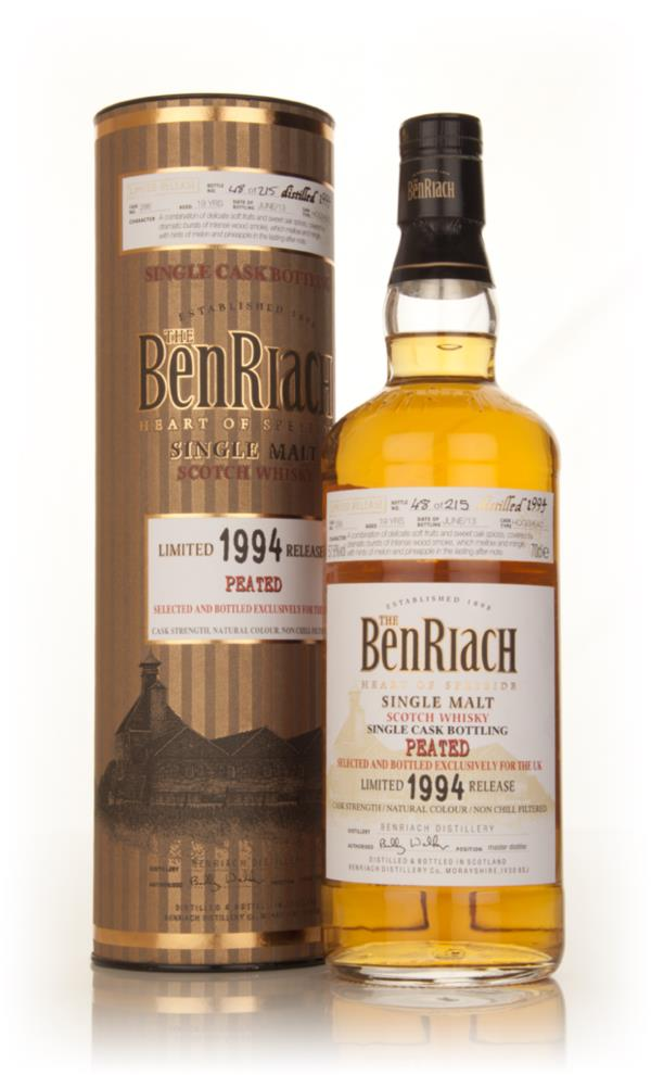 BenRiach 19 Year Old 1994 Peated (cask 286) Single Malt Whisky