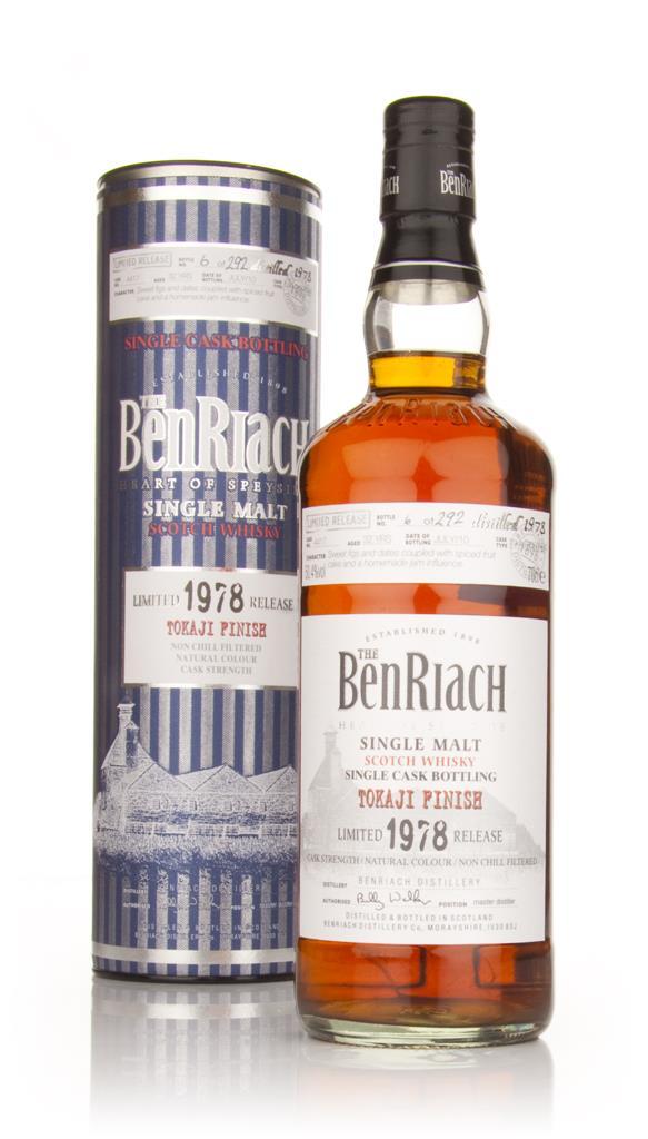 BenRiach 32 Year Old 1978 Tokaji Finish Single Malt Whisky
